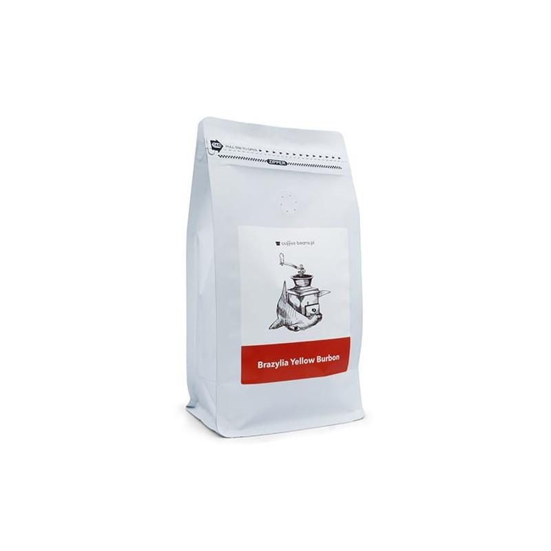 Kawa ziarnista CoffeeBeans Coffee Beans do ekspresu  Kawa Yellow Bourbon pół kilograma