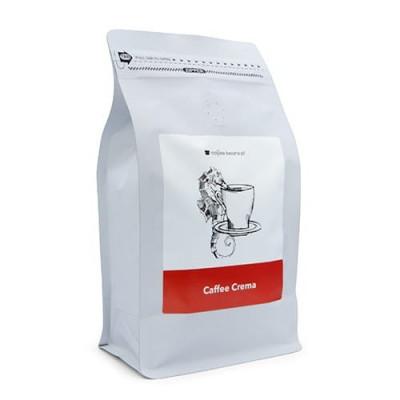 Kawa ziarnista Coffee Beans Kawa do ekspresu, kawa do kawiarki, kawa z Lubonia w białym opakowaniu, kawa Kościan