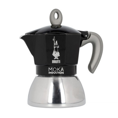 Bialetti New Moka Induction 4tz Czarna Kawiarka