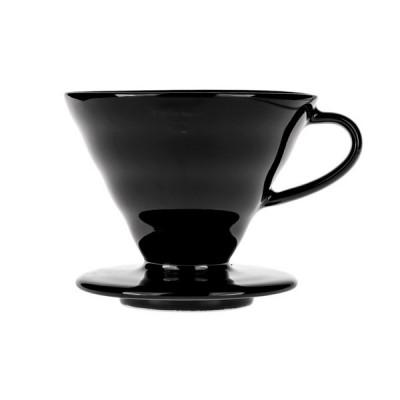 Hario 02 Drip Ceramiczny Kasuya V60-02 Czarny