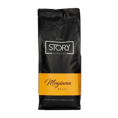 Kawa Mogiana Brazyia z polskiej palarni kawy Story Coffee Roasters do ekspresu, french pressu, kawiarki