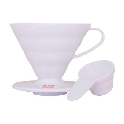 Hario 01 Drip Ceramiczny V60-01 biały