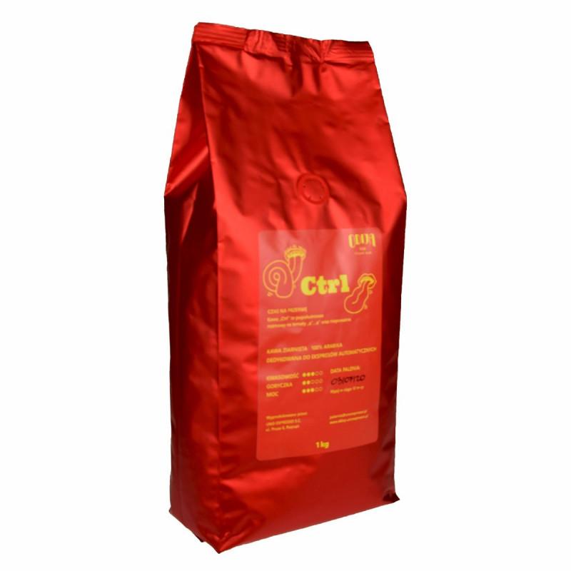 Kawa ziarnista do ekspresu CTRL Odija 1kg, kawa do kawiarki z polskich palarni, Odija rzemieślnicza palarnia Poznań