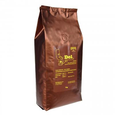 Kawa ziarnista Del Odija 1kg, kawa do ekspresu, kawa do kawiarki, kawa świeżo palona, kawa z polskich palarni