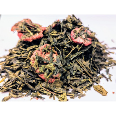 Zielona Herbata Truskawkowa