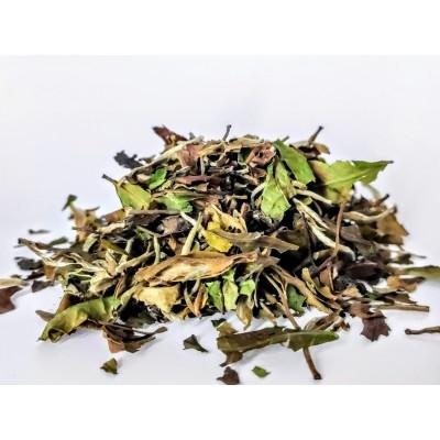 Biała Herbata China White Pai Mu Tan Qingshan Organic 50g
