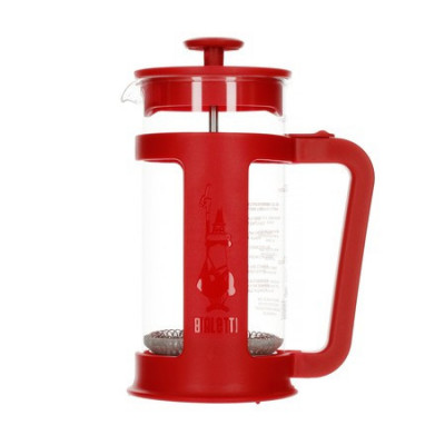 French Press Smart Bialetti 350ml Czerwony