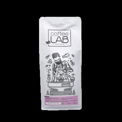 Kawa z CoffeeLab Gwatemala. Sklep z kawą Saskia, kawa do ekspresu w białym opakowaniu