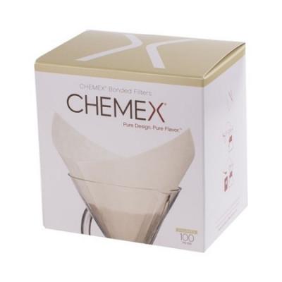 Chemex filtry białe kwadratowe 6,8,10 filiżanek, Filtry do Chemexa Chemexu