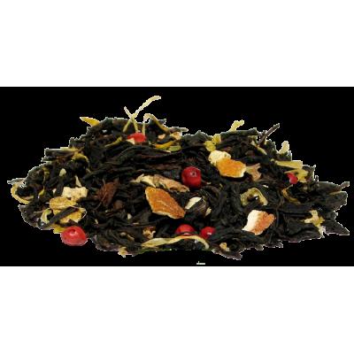 Herbat czara z dodatkiem imbiru  pomarańczy. Herbata liściasta w Saskia sklep z herbatą