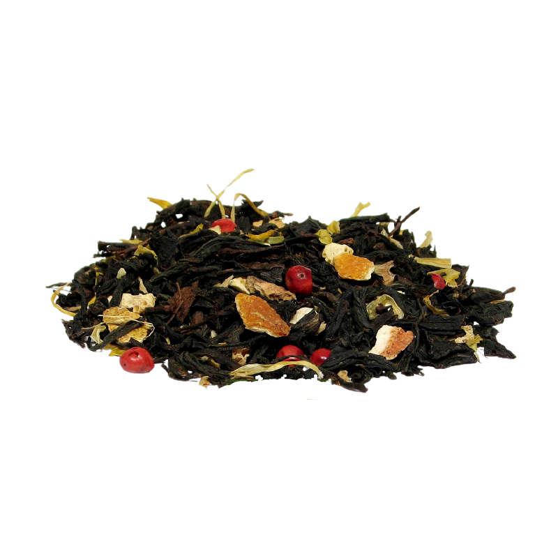 Herbat czarna z dodatkiem imbiru  pomarańczy. Herbata liściasta w Saskia sklep z herbatą