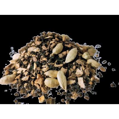 Herbata Assam z ddatkiem cynamonu kardamonu imbiru wanilii Saskia sklep z herbatą