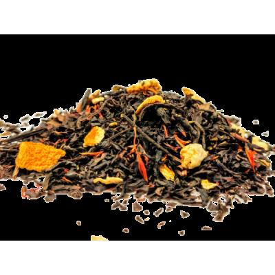 Herbata czarna pomarańczowa ze skórką pomarańczową