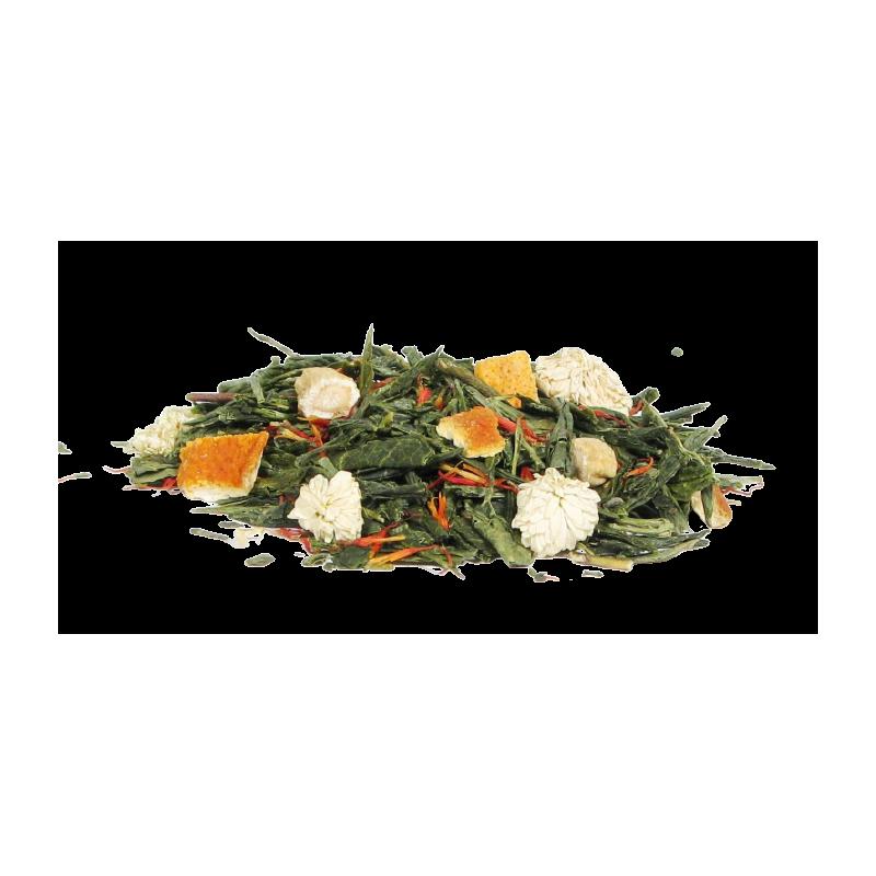 Herbata zielona żeń-szeń. Sklep z herbatą z żeńszeniem