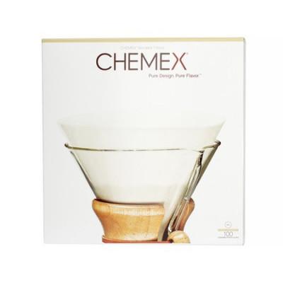Chemex - Filtry Papierowe Białe Niezłożone 6, 8, 10, 4-13